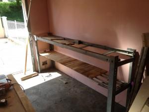 construction d un tabli passion bricolage. Black Bedroom Furniture Sets. Home Design Ideas